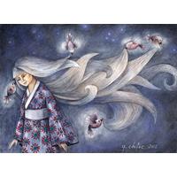 Carlota and Her Magic Birds