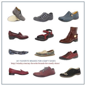 Favorite Brands for Comfortable Shoes