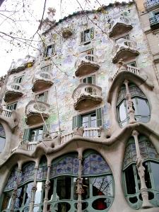 Casa Battló, by Antoni Gaudí