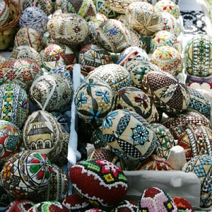 Decorated Easter Eggs, Romanian-Style