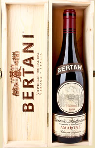 Amarone Bertani, famous Veneto wine