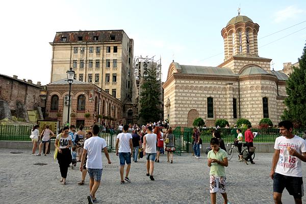 Biserica Sf. Anton, linga Piata Unirii, Bucuresti