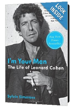 Wonderful Leonard Cohen biography by Sylvie Simmons