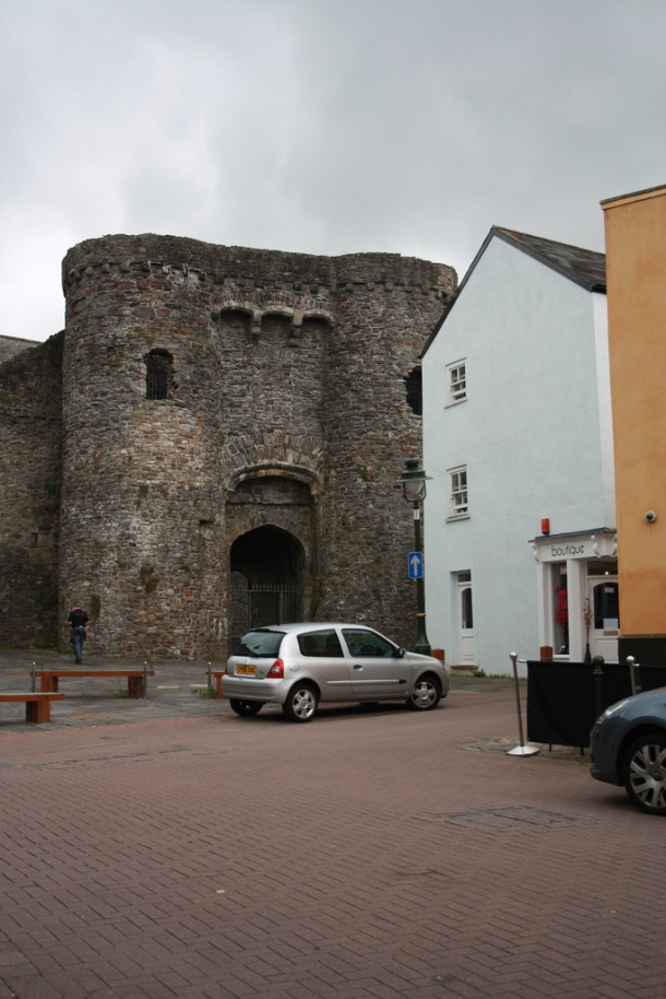 Carmarthen Castle, South Wales