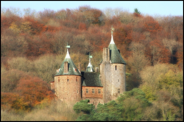 Castell Coch, Tongwynlais (South Glamorgan), South Wales